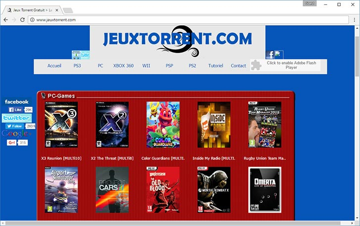 Jeux Torrent torrent tracker