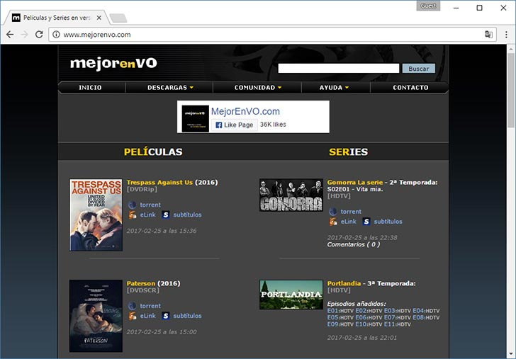 Mejor en VO torrent tracker