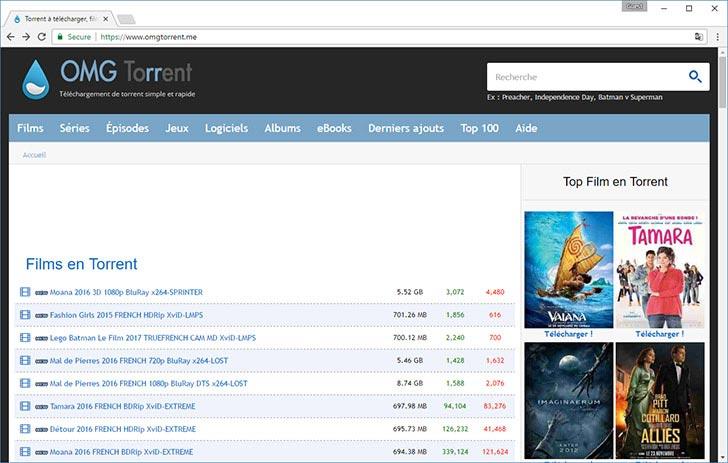 OMGTorrent torrent tracker