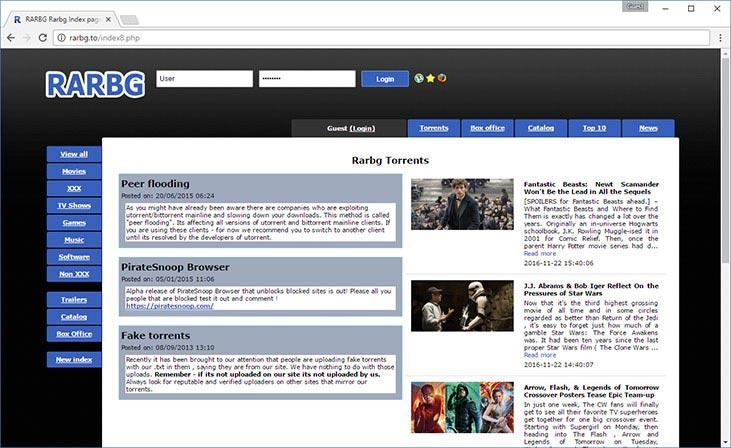 Rarbg.com movies