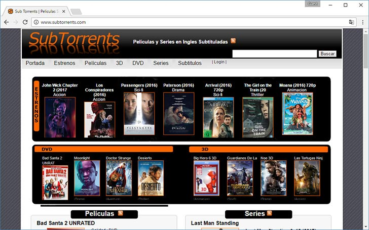 SubTorrents torrent tracker