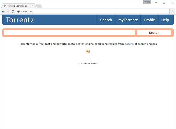 Torrentz torrent tracker