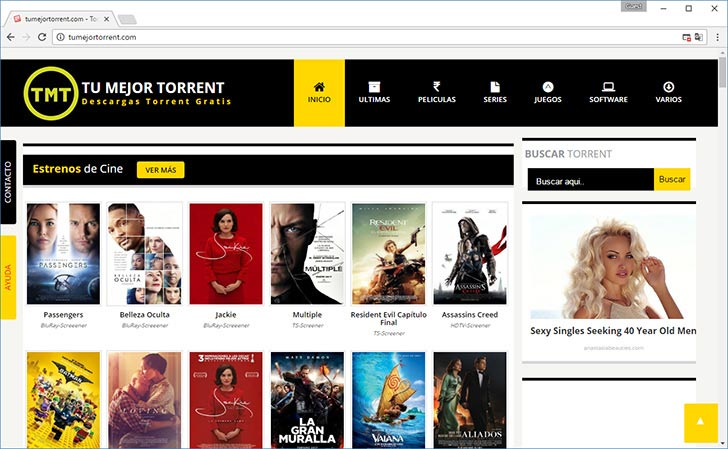 TumejorTorrent torrent tracker